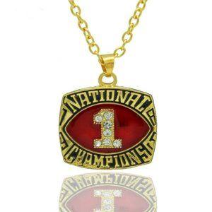 USA Oklahoma Sooners 1985 Pendant Necklace